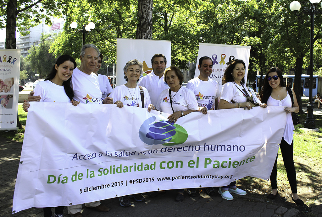 GIST Chile and Chilean patients' organizations