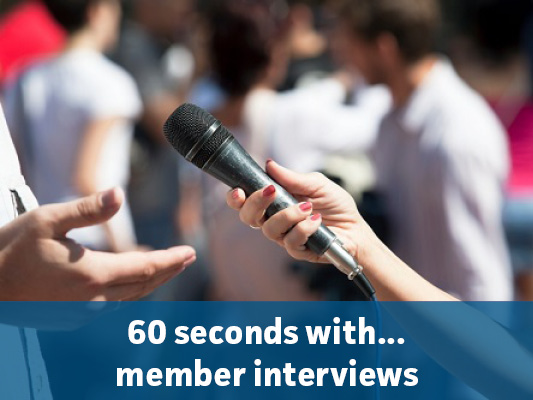 60 seconds with... graphic