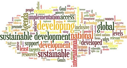 SDGs common words