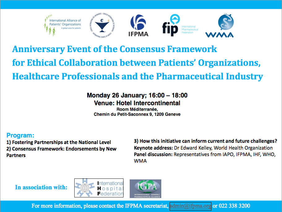 Ethical Framework event