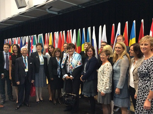 NGO policy representatives with WHO EURO Regional Director