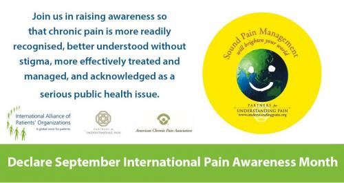 international pain awareness month international alliance of